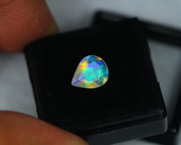 1.01Ct Natural Ethiopian Welo Faceted Opal Lot N35