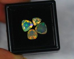 1.80Ct Natural Ethiopian Welo Faceted Opal Lot N42