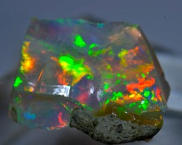 12.28ct  CUTTING ROUGH ETHIOPIAN SOLID OPAL SPECIMEN
