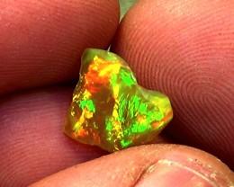 2.80 cts Ethiopian Welo CHAFF BRUSH STROKES brilliant opal N4 5/5