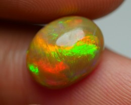 2.55 CRT STUNNING BROWN BASE 3D DOUBLE SIDE NEON FIRE WELO OPAL