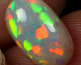 AAA 2.30cts 5/5 CELL HONEYCOMB Natural Ethiopian Welo Opal