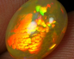 2.70cts DRAGON SCALE HONEYCOMB Natural Ethiopian Welo Opal