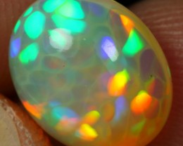 2.80cts TOP 5/5 CELL HONEYCOMB Natural Ethiopian Welo Opal