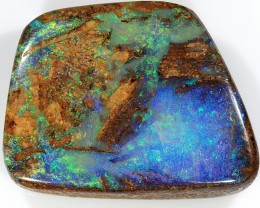 28ct 23x18mm Pipe Wood Fossil Boulder Opal  [LOB-1236]