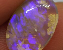 3.15CT SOLID SEMI BLACK LIGHTING RIDGE OPAL MI49