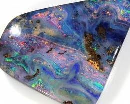 57ct 29x25mm Queensland Boulder Opal  [LOB-1239]