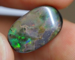 5.00 CRT WOOD OPAL COMMON BRIGHT GREENISH COLOR INDONESIAN OPAL