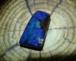 8.45 ct Beautiful Blue Natural Queensland Boulder Opal