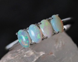 Cute Solid Crystal  Opal Rings  SU 580