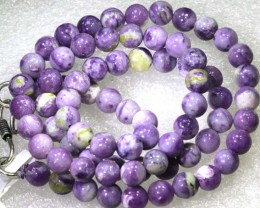 "119CTS PURPLE OPAL BEADS - FROM MEXICO ""MORADO""  LO-4654"