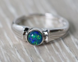 Cute Triplet Opal Rings  SU 591