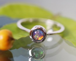 Cute Triplet Opal Rings  SU 593
