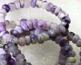 "102 CTS PURPLE OPAL BEADS -FROM  MEXICO "" MORADO "" LO-4669"