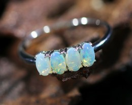 Cute Solid Crystal  Opal Rings  SU 601