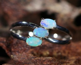 Cute Solid Crystal  Opal Rings  SU 603