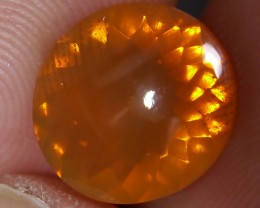 2.40 CT UNTREATED FIRE INDONESIAN FACETED OPAL