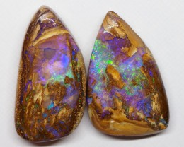 62.85CT VIEW WOOD REPLACEMENT BOULDER OPAL RI378