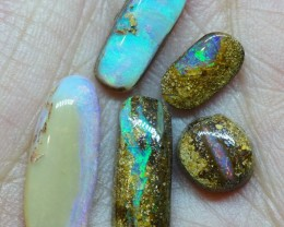 15.30CT VIEW WOOD REPLACEMENT BOULDER OPAL RI385