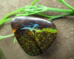 "35cts.""BOULDER MATRIX OPAL~YOWAH OPALS DIRECT"""