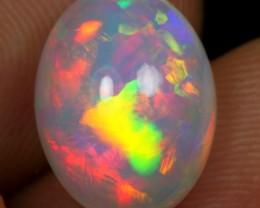 3.80cts Top 5/5 Rainbow Fire Ethiopian Opal