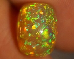 4.96 CT PINFIRE !!! BEAUTIFUL MULTI COLOR ETHIOPIAN OPAL-AD106