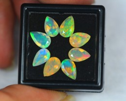 Black Friday 3.57Ct Natural Ethiopian Welo Faceted Opal Lot MMB63
