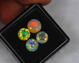 3.18Ct Natural Ethiopian Welo Faceted Opal Lot N55