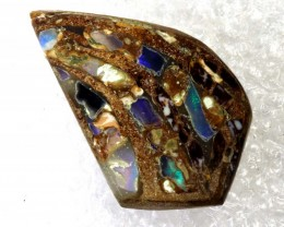3.25CTS BOULDER OPAL INLAY POLISHED STONE TBO-7996