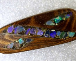 12.55CTS BOULDER OPAL INLAY POLISHED STONE TBO-8013