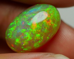 7.30 CRT BRILLIANT DARK CRYSTAL FLORAL PLAY COLOR PATTERN WELO OPAL