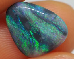 1.90CT SOLID LIGHTNING RIDGE BLACK OPAL  MI196
