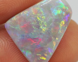6.00CT SOLID SEMI BLACK LIGHTING RIDGE OPAL 'AMAZING PATTERN'  MI226
