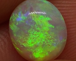 1.40CT LIGHTNING RIDGE CRYSTAL OPAL  MI255