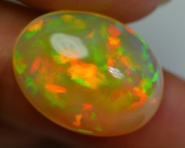 9.00 CRT STUNNING DELUXE COLOR PATCHWORK HOLOGRAM FIRE WELO OPAL