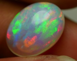 5.80 CRT GORGEOUS ROLLING FLASH PATTERN CRYSTAL CLEAR WELO OPAL-