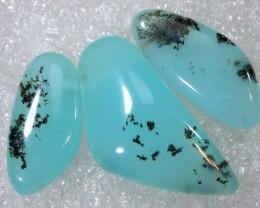 14.6CTS BLUE PERUVIAN OPAL BEADS TBO-8023