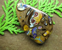 """58cts.""""BOULDER CONGLOMERATE OPAL~GREAT STONE"""""""