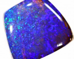 Gorgeous pipe boulder opal stone