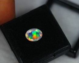 1.07Ct Natural Ethiopian Welo Faceted Opal Lot MB1