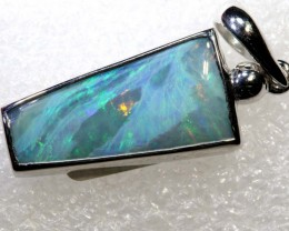 20.0CTS BOULDER OPAL STERLING SILVER PENDANT OF-2294