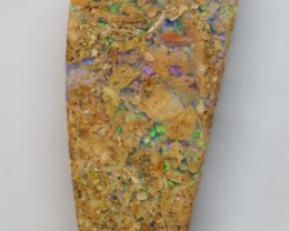 10.00CT VIEW PIPE WOOD REPLACEMENT BOULDER OPAL  RI584