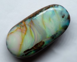 9.70CT VIEW PIPE WOOD REPLACEMENT BOULDER OPAL  RI592