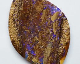 19.00CT VIEW PIPE WOOD REPLACEMENT BOULDER OPAL RI601