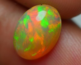 2.00 CRT DARK CRYSTAL ROLLING FLASH FIRE BEAUTY PLAY COLOR WELO OPAL