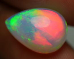 5.00 CRT AWESOME RED BROADFLASH FIRE DELUXE MULTYCOLOR WELO OPAL