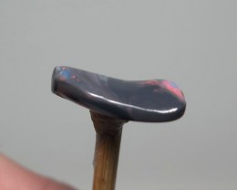 3.11Ct Lightning Ridge Black Opal stone