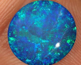 3.3ct 11.5x11mm Lightning Ridge Opal Doublet [PDO-106]
