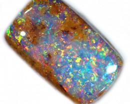 Gem! Sparkling pipe boulder opal