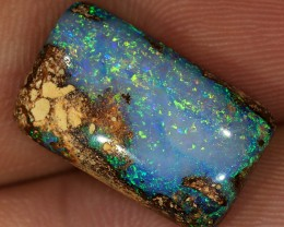 8.9ct 18x11mm Pipe Wood Fossil Boulder Opal  [LOB-1302]